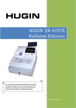 Hugin Alpha ER 425 TX kullanım klavuzu için