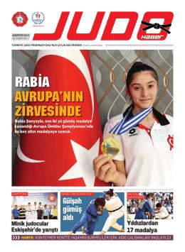 Gülşah gümüş aldı - Türkiye Judo Federasyonu
