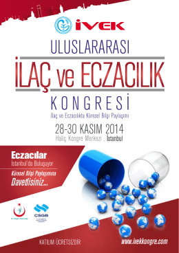 Program - Ankara Eczacı Odası
