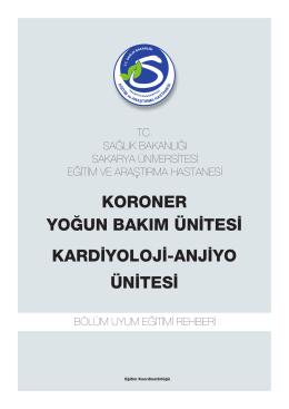 Koroner Yoðun Bakým - Sakarya Eğitim ve Araştırma Hastanesi