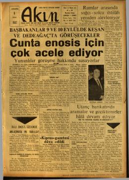 6Eylül1967-Akın