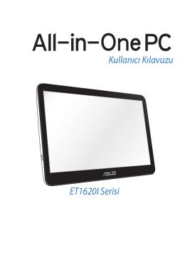 ET1620I Serisi Kullanıcı Kılavuzu