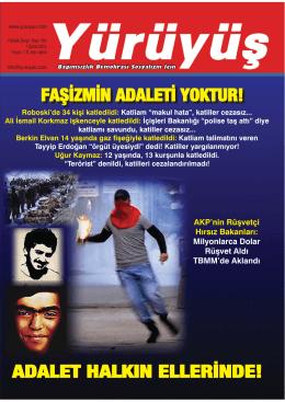 faşizmin adaleti yoktur! - PDF