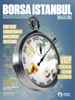 COVER stORy - Borsa İstanbul