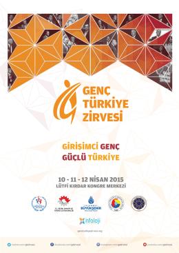 GENC TURKIYE ZIRVESI - Genç Türkiye Zirvesi
