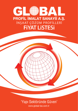 Profil Fiyat Listesi 2014/1