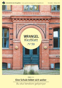 WrangelKiezblatt Nr. 50 - Quartiersmanagement Wrangelkiez