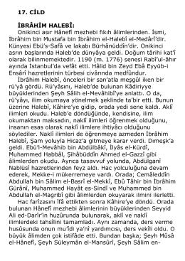 Dr. Enver Oren - Islam Alimleri Ansiklopedisi 17 Cilt_kindle
