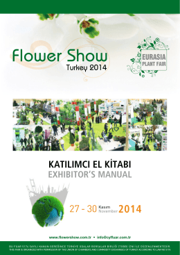 S - Flower Show Turkey