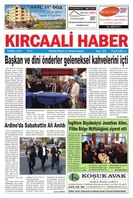 Sayı 222/2014 - Kırcaali Haber
