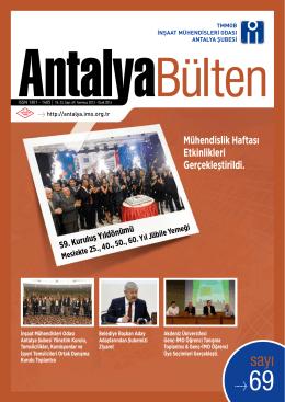 6094 KB - Antalya - İnşaat Mühendisleri Odası