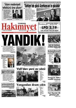 (17 kas\375m.qxd) - Çorum Hakimiyet Gazetesi