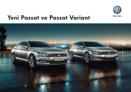 Yeni Passat ve Passat Variant