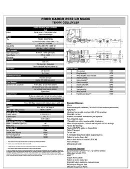 2532 Midilli LR Teknik Özellikleri