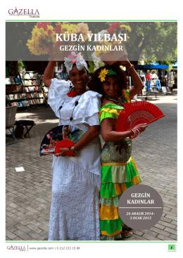 küba yılbaşı - Gazella Turizm