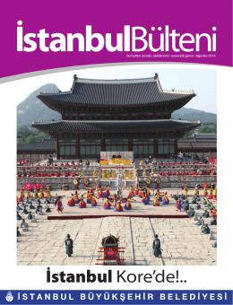 Ağustos 2014 - İstanbul Büyükşehir Belediyesi