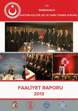 2013 akdtyk idare faaliyet raporu