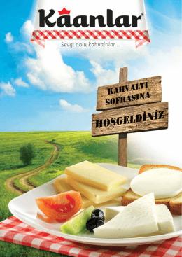 Peynir Kataloğu - Kaanlar.com.tr