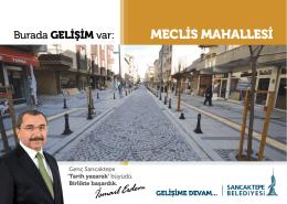 MECLİS MAHALLESİ - Sancaktepe Belediyesi