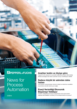 News for Process Automation, Baskı 2/2014
