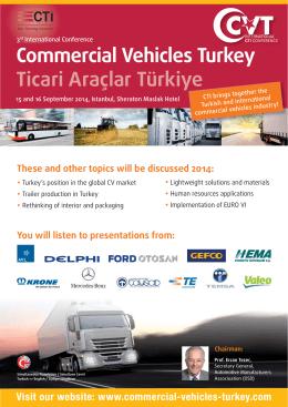 Commercial Vehicles Turkey Ticari Araçlar Türkiye