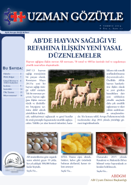 İndir - TC Gıda Tarım ve Hayvancılık Bakanlığı