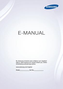 Samsung UE55H6470 Kullanım Kılavuzu (TR)