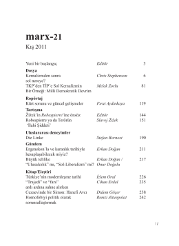 1. sayıyı okumak için tıklayın - marx-21