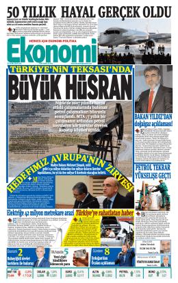 21 EKİM 2014 - Ekonomi Gazetesi