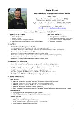Résumé (PDF Version)