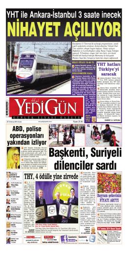 YHT ile Ankara-‹stanbul 3 saate inecek