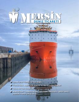Deniz Ticareti Dergisi Mayıs 2014 Sayısı
