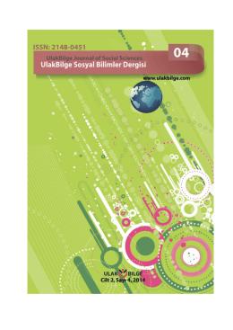 Tam Metin - Ulakbilge Sosyal Bilimler Dergisi