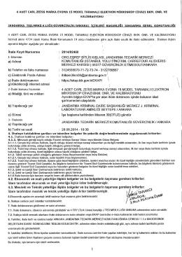 2014/92450 1-İdarenin : ORG.EŞREF BİTLİS KIŞLASI, JANDARMA