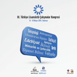 III. Türkiye Lisansüstü Çalışmalar Kongresi
