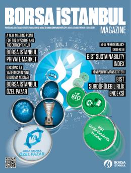 Borsa İstanbul Magazine