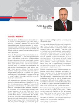 SD Dergisinin Mart 2014 (52. Sayı)