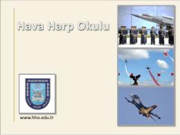 www.hho.edu.tr - Hava Harp Okulu