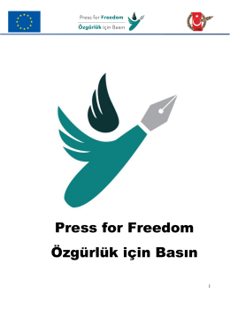 Press for Freedom Özgürlük için Basın