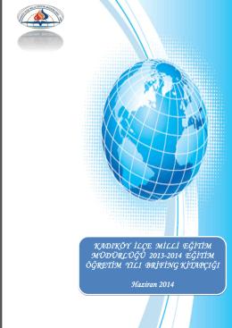 Kadıköy İlçe MEM Brifing kitabı - İDEM Projesi resmi sayfasıdır