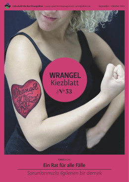 Wrangelkiezblatt - Quartiersmanagement Wrangelkiez