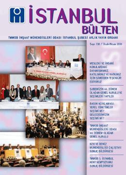 istanbul bülten sayı 130 (3587 KB)