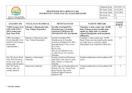 kys-fr-110 internette yayınlanacak analiz bilgileri 02.10.2014