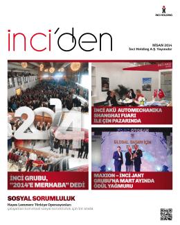Nisan 2014 - İnci Holding