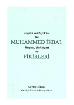 hayatı, şahsiyeti ve - Iqbal Cyber Library