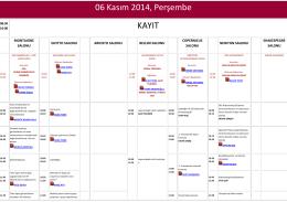 TSRM 2014 - 6.ULUSAL ÜREME ENDOKRİNOLOJİSİ ve