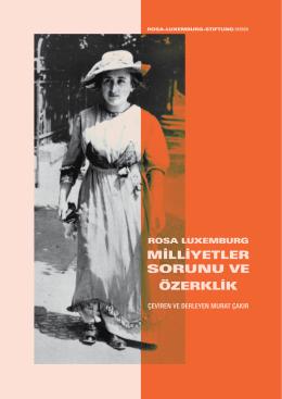 milliyetler sorunu ve özerklik - Rosa Luxemburg Stiftung Hessen