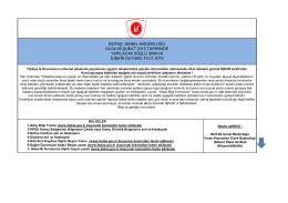 botaş genel müdürlüğü 03-04-05 şubat 2015 tarihinde yapılacak