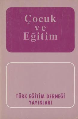 Çocuk ve Eğitim - Türk Eğitim Derneği