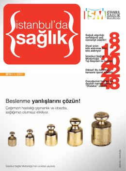 Ocak-Şubat Mart 2014 - İstanbul İl Sağlık Müdürlüğü